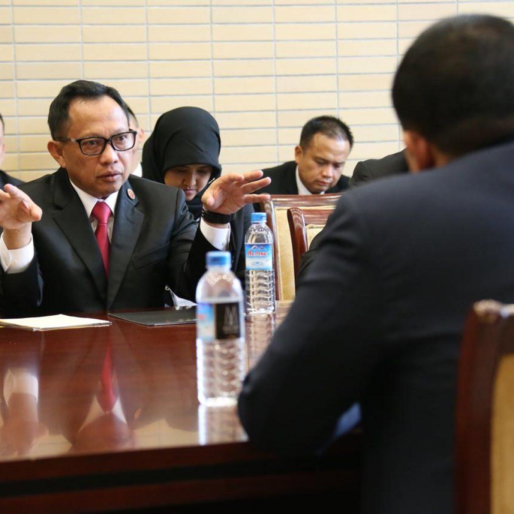 Pertemuan Bilateral Kapolri dengan Sekretaris Senior