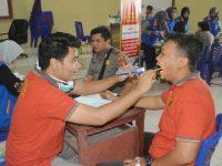 Tim Bid Dokkes Polda Lampung Laksanakan Rikkes di Polres Tuba