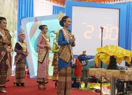 Mahasiswi FEB UBL Juarai Ajang Putri Otonomi Daerah Tanggamus 2018