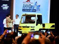 Peluncuran Kendaraan Pedesaan Karya Anak Bangsa AMMDes