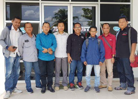 DPD AJO Indonesia Kalteng Bangun Sinergi dengan IJTI