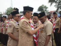 Kwarcab Lampung Timur Gelar Apel Hari Pramuka