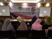Safe Food Indonesia (SFI) Lampung Gelar Talkshow Pengenalan Sistem Keamanan Pangan