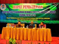 Kadishut Lampung Buka Rapat Pembahasan Rancangan Penanaman RHL 2019