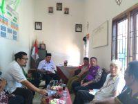 Pengurus Kwarda Lampung Temui Pelaku Sejarah Transpram II Lamtim