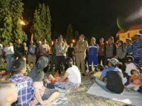 Sambut 2019, Gubernur Ridho dan Jajaran Forkopimda Kunjungi Pengungsi Korban Tsunami