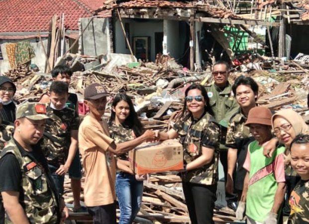 PPM dan Drass Indonesia Lampung Galang Donasi-Trauma Healing Korban Tsunami