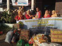 Peduli Korban Tsunami, HAKLI Bandarlampung Serahkan Paket Donasi
