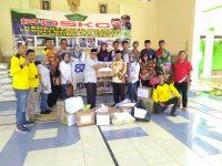 Alumni SMA YP Unila Balam Serahkan Bantuan di Kalianda Lamsel