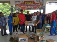 Disnakertrans Lampung Bantu Korban Tsunami di Kalianda dan Pesawaran