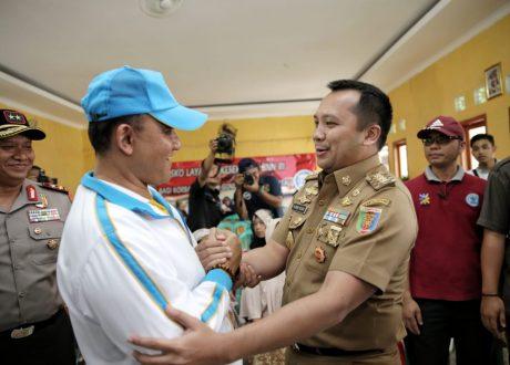 Gubernur Ridho dan Kapolda Lampung Dampingi Kepala BNN Tinjau Lokasi Tsunami
