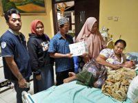 Komil Lampung kembali Salurkan Bantuan Kemanusiaan untuk Noval Al-Bukhori (1)