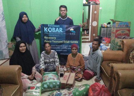 Jadi Yatim Piatu Pascatsunami, Relawan Kobar Lamsel Upayakan Beasiswa Untuk Rizki