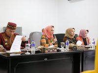 Ketua Dekranasda Semangati Para Perajin Kabupaten/Kota se-Lampung Hadapi Inacraft Ke-21