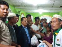 Baznas Tuba bersama PWI Salurkan Bantuan bagi Warga Terdampak Banjir
