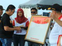 Pecah, Deklarasi Anti Narkoba di Pantai Padang Dihadiri 15 Ribu Milenial & Warga Sumbar