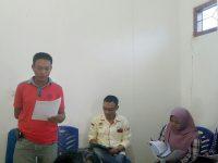 Rapat Perdana, Mappilu Lamteng Bahas Tupoksi dan Penyerahan SK Penugasan