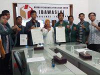 Aliansi BEM Lampung Sukses Ajak Bawaslu Kawal Pemilu Cerdas dan Berintegritas