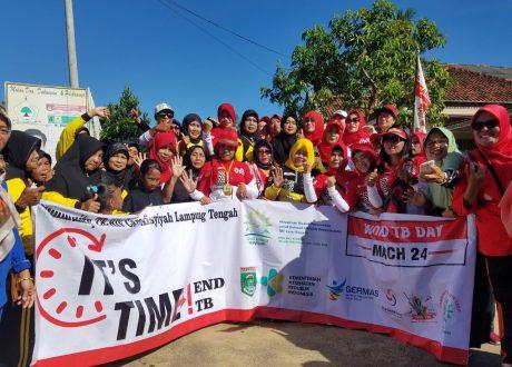 Hari TB Se DuniaSSR TB Care Aisyiyah Lampung Tengah dan Dastun Comunity