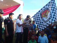 Sosialisasi Pencoblosan, KPU Pringsewu Gelar Jalan Sehat 'Pemilu Run'