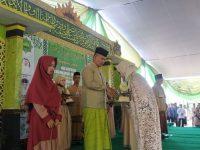 Wabup Fauzi Hadiri Wisuda Hifzil Qur'an Santri Ponpes Baitu Qur'an & Al-Husna