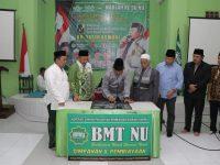 Puncak Peringatan Harlah ke-96, NU Pringsewu Launching BMT NU