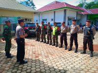 Polsubsektor Pagelaran Utara Gelar Pengamanan Rapat Pleno Terbuka Pemilu 2019