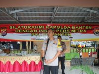 Kapolda Gelar Silaturahmi dengan Insan Pers Mitra Polda Banten