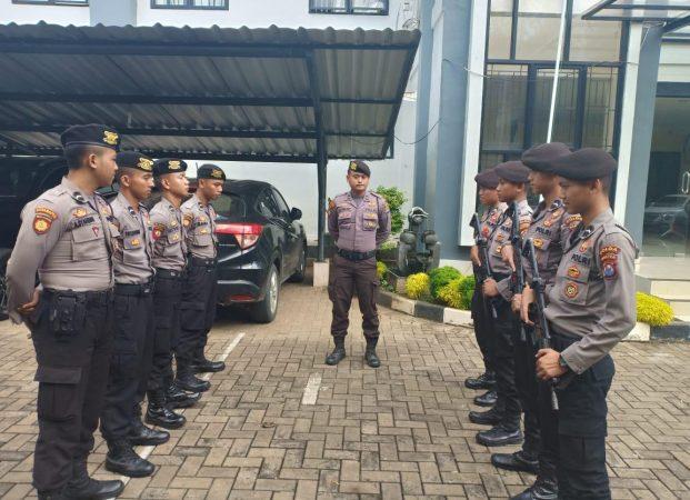 Kapolda Banten dan Danrem 064/MY Hadiri Pleno KPU Provinsi Banten dan Cek Pengamanan KPU