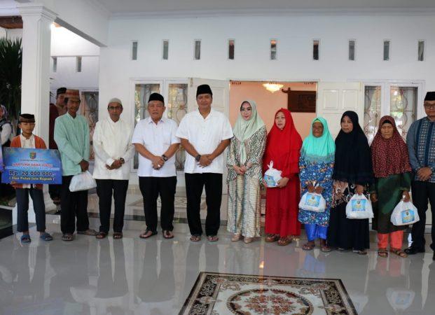Kapolda Lampung bersama Jajaran Forkopimda Laksanakan Safari Ramadhan