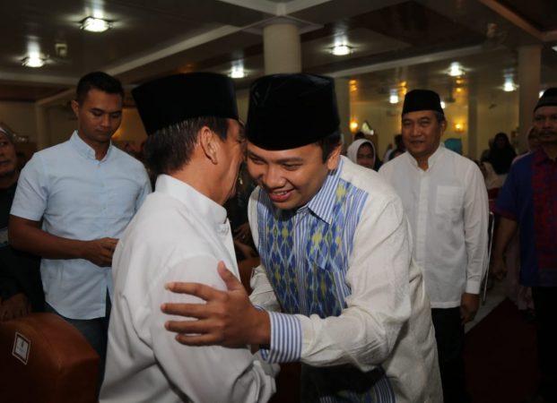 Gubernur Ridho Bersama Walikota Herman HN Safari Ramadhan di Masjid Alfurqon