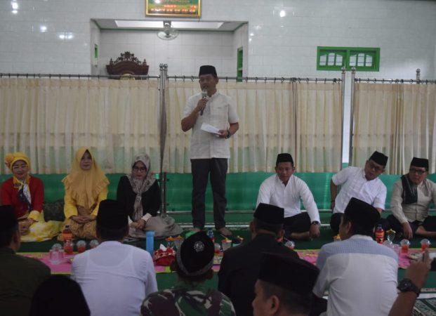 Wakil Bupati Hadiri Kegiatan Safari Ramadhan Tim 2 di Masjid Muttaqin Kedaloman Gunung Alip