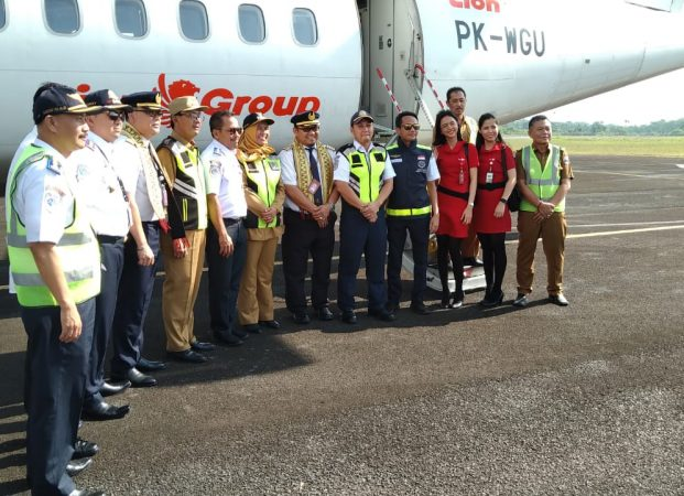 Wings Air Melakukan Proving Flight Tanjung Karang ke Krui