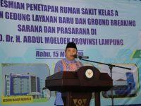 Gubernur Ridho Wujudkan RSUDAM Bersertifikat Kelas A dan Jadi Rujukan Rumah Sakit di Sumatera