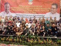 Lampung Tuan Rumah Kegiatan Penguatan Kapasitas Pendamping dan Pengendalian Bansos Pangan Wilayah I