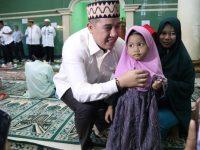 Bupati Pesawaran Safari Ramadhan di Masjid Babussalam Desa Way Harong Kec Way Lima