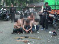 Lima Pelaku Tawuran Diamankan Tim Pemburu Preman