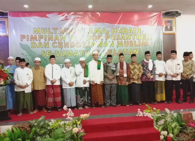Multaqo Ulama, Habaib, Pimpinan Pondok Pesantren Dan Cendikiawan Muslim Se- Sumatera Selatan Gelar Puasa Bersama