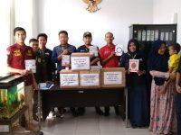 Komil dan Metal Lampung Donasikan 150 Mushaf Alquran ke Lapas Gunung Sugih