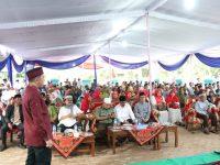 Bupati Dendi Pimpin Silaturahmi Ramadhan Kabupaten Pesawaran dengan Masyarakat Kecamatan Tegineneng