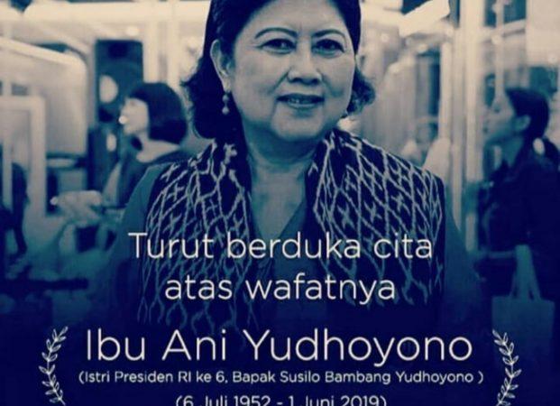 TMP Kalibata, Peristirahatan Terakhir Ani SBY
