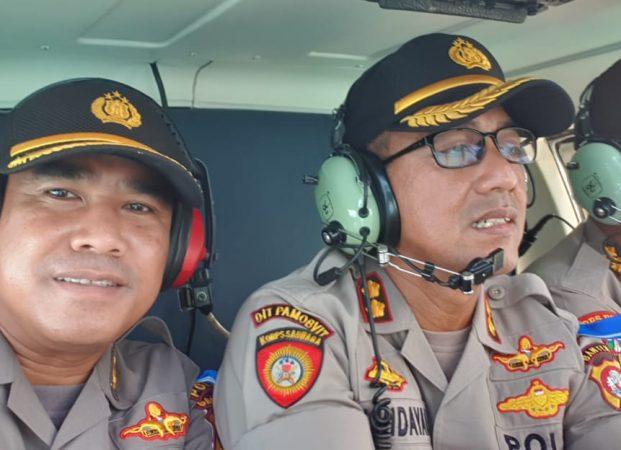 Jamin Keamanan Lebaran, Karo Ops Pimpin Patroli Udara ke Merak Dan Anyer