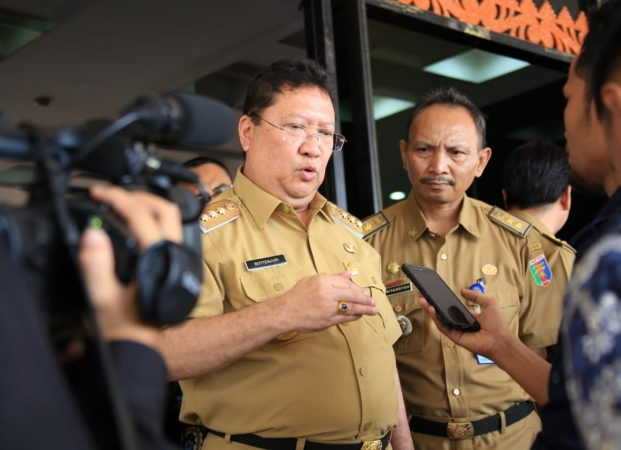 Pj. Gubernur Lampung Briefing Pejabat Eselon II dan III