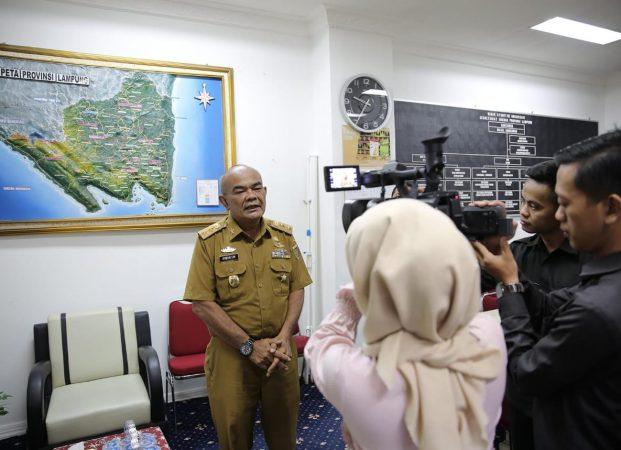 Presiden Lantik Arinal-Nunik Besok, Pemprov Lampung Siapkan Penyambutan