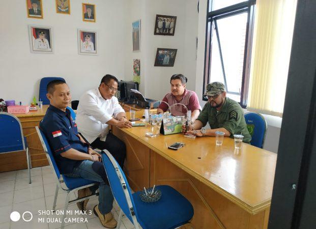 """Kunjungan Ke Staf Khusus Bupati Muba ,Wujudkan Program """"Journalist Smart Positive"""""""