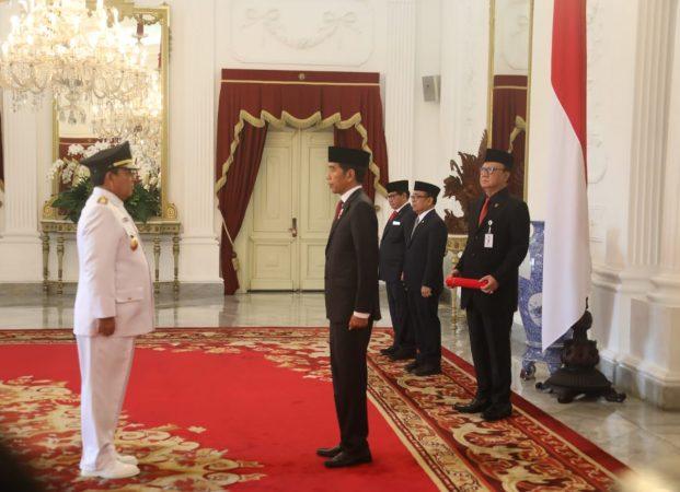 Presiden Jokowi Resmi Melantik Gubernur dan Wakil Gubernur Lampung 2019-2024
