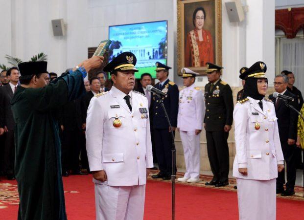 Pelantikan Gubernur dan Wakil Gubernur Lampung