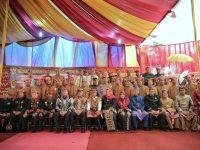 Pesan Menhan Ryamizard Dalam Acara Halal Bihalal Masyarakat Adat di Lamsel