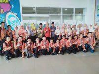 Pelepasan Kontingen OSN SD/SMP Provinsi Lampung ke Tingkat Nasional