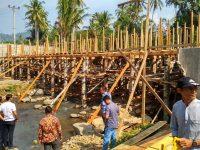 Pembangunan Jembatan Way Tebu Tanggamus Diduga Bermasalah